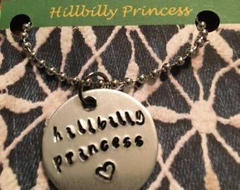 Hillbilly princess necklace