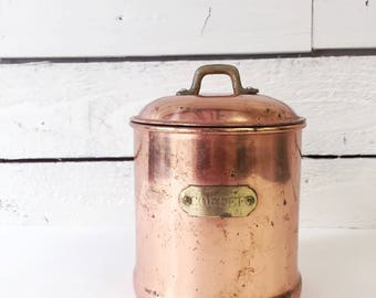 Copper home decor Etsy