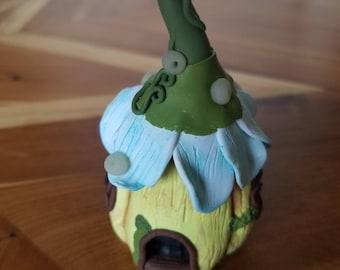 Flower House Fairy Bottle