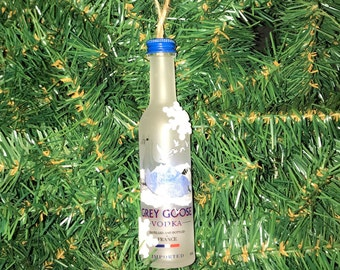 Grey goose  vodka Christmas ornament