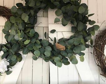 MEDUIM full Eucalyptus wreath