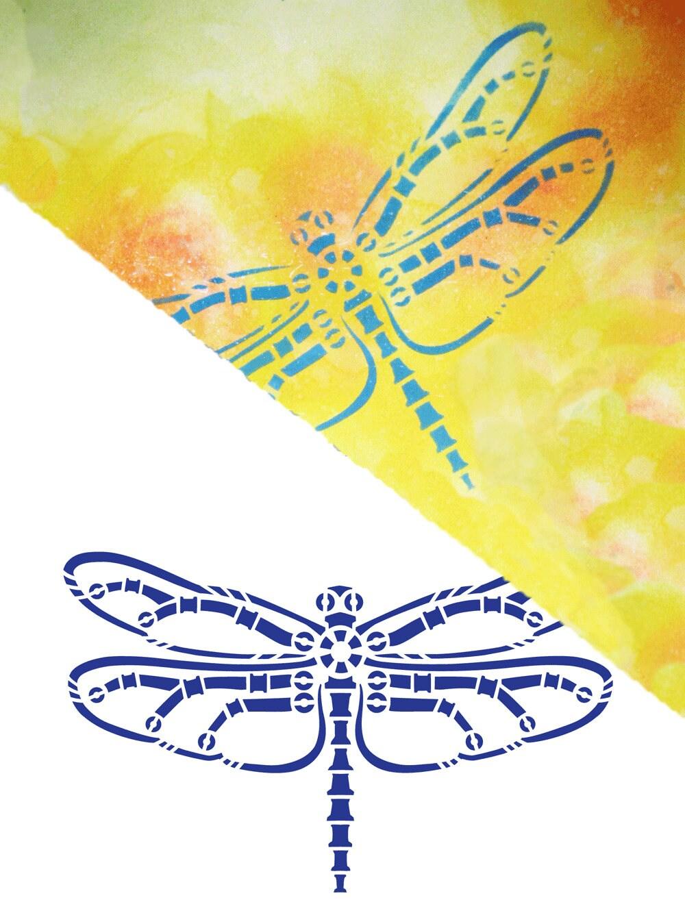 Plantilla de la libélula del Steampunk, plantilla tribal, plantilla ...
