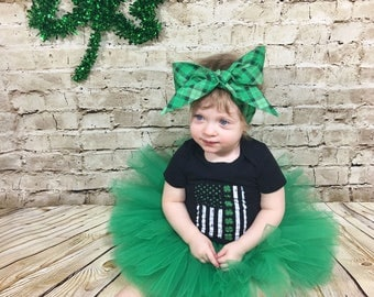 CHOOSE COLOR- Green Tutu; Baby Tutu; St Patrick's Day Tutu; Birthday Tutu; Kids Tutu; Girls Tutu; Cake Smash Tutu; Toddler Tutu; St Patricks