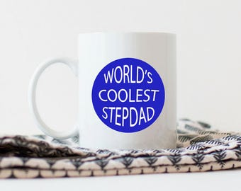 Stepdad Fathers Day Gift | Step Dad Fathers Day Mug | Coffee Mug for Stepdad | Step Dad Gift | Step Dad Fathers Day Gift