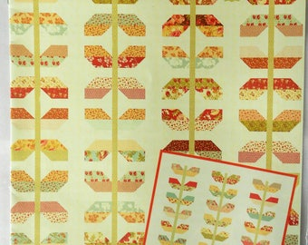 Stems Quilt Pattern by Fig Tree & Co.