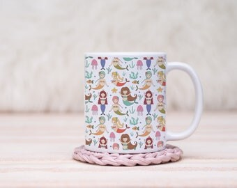 For The Love of Mermaids Mug