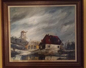 Original Landscape Painting by Vladimir