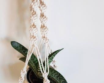Natural Macrame Plant Hanger