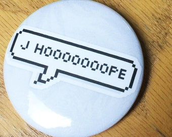J-Hope BTS-Pinback Button-Custom-2.25 inch-NEW!