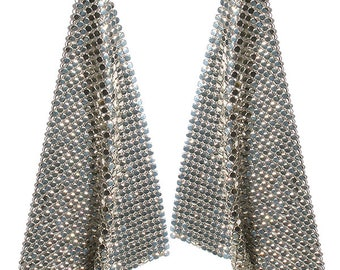 Studio 54 Mesh  Earrings