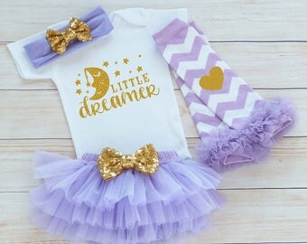 Coming Home Baby Girl Outfit, Baby Girl Coming Home Shirt, Little Dreamer Bodysuit, Baby Coming Home Shirt, Baby Shower Gift, Infant Outfit