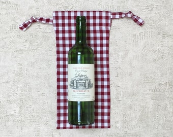 smallbags gingham - Tote - reusable cotton bag - zero waste