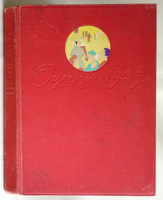 University of Washington Yearbook (Annual) 1935 - Tyee - Seattle, Washington WA - King County