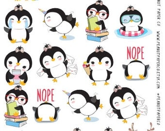 Busy Penguins