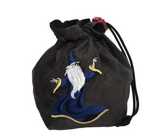 Dice Bag - Fantasy Wizard