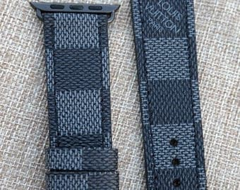 Lv Strap, Apple Watch Strap, louis vuitton strap, Apple watch band, apple watch lv strap, lv damier, applewatch2, samsung s3, apple watch 3