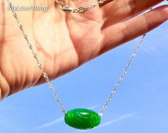 Pendentif jade chance