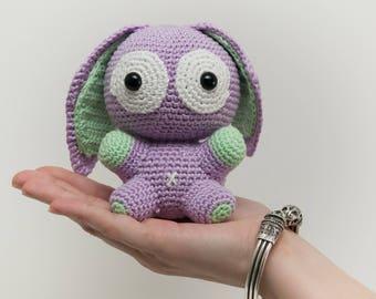 Crochet pattern, amigurumi pattern rabbit, easy pattern crochet,crochet bunnies, sweet bunny crochet,tuto pdf crochet,patron crochet lapin