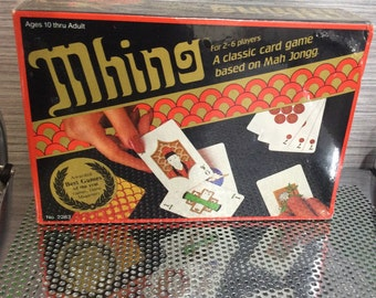 1983 Mhing Card Game Sealed Awarded Best Games of  the Year