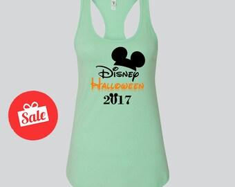 Disney Halloween 2017 Tank. Halloween Disney Shirt. Cute Halloween tank. [E0563]