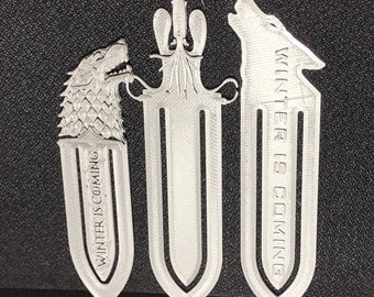 Game Of Thrones Bookmarks (Set of 3)