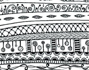 Silk screen stencil No. 105