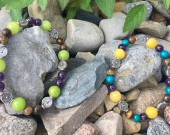 Natural tones bracelet