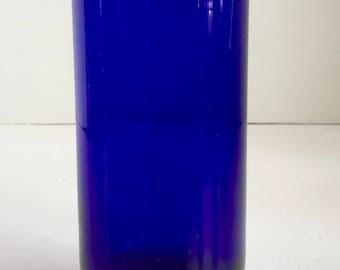 Cobalt Blue 16 Ounce Highball Tumbler Glass