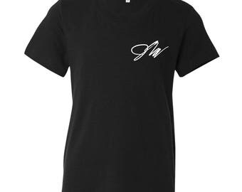 Jake Paul Signature T-Shirt. Jake Paul Signature Youth T-Shirt. Jake Paul Shirt. Jake Paul Merch. S-XL Youth Tee.
