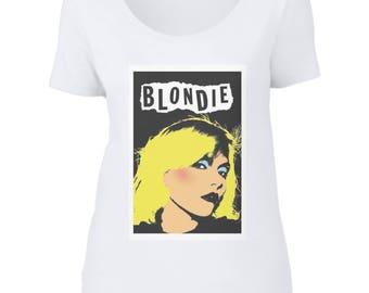 Blondie Scoop Neck T-Shirt