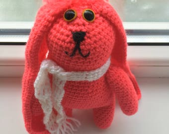 Crochet Amigurumi Handmade Stuffed toy - Mia the bunny