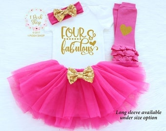 4th Birthday Girl Outfit, Fourth Birthday Outfit Girl, Fourth Birthday Outfit, Toddler's 4th Birthday Shirt, 4th Birthday Shirt  BFF1