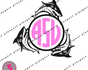 shark svg,shark monogram svg,shark svg,shark monogram svg,shark monogram,shark dxf,shark cricut,shark cut file,shark vector,svg for cricut