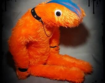 Emonster - Alternative - Handmade - Gothic - Emo - Alternative - Stuffed Monster - Plush - Plushie.