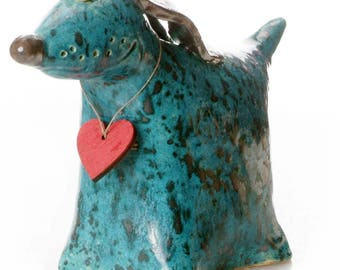 Teal Greyhound | Gift for Dog  Lovers | Quirky Gift | Wooden Plaque to write a message