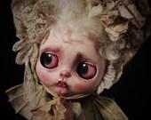 MISTY SONG, tiny vampire, full Blythe custom OOAK/Unique design Julien Martinez