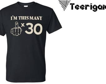 I'm This Many Style Fashion Top Custom Made T-Shirt Perfect Gift. Pm Us if you want a bundle deal !