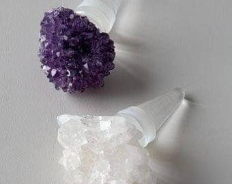 Amethyst Bottle Stopper