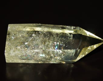 Citrine Tower - Yellow Natural Citrine Crystal Point Gemstone - CT2