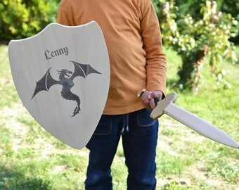 Personalized Knight's shield