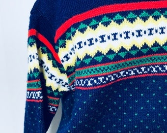 Vintage Baby Nordic Sweater