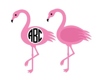 Flamingo Svg Pink Flamingo Svg Summer svg  Svg file for Cricut Svg file for Silhouette Vector cut files Svg DXF Png Eps