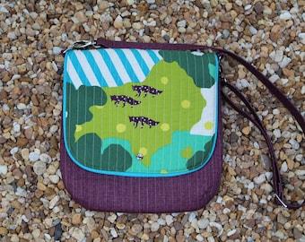Japanese Fabric Mini Messenger Handbag