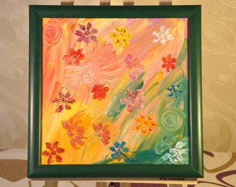 Energetic Painting, Sunny Spring