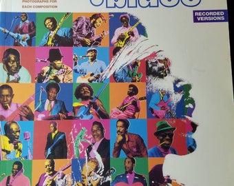 Jimi Hendrix Blues Sheet Music Book.