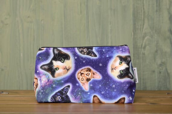 Galaxy cat large bag