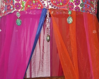 Bohemian Canopy for Chair or Bed, Glamping, Reading Nook, Garden, Backdrop, Dorm, Study Area, Meditation, Relaxation, Retreat