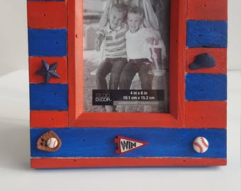 Take Me Out To The Ball Game! Photo Frame
