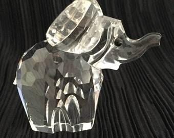 Swarovski large Elephant.Figure Figurine. Retired.