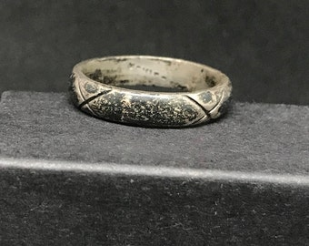 Vintage Taxco Sterling Silver Ring MARKED